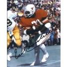"""Earl Campbell Autographed Texas Longhorns 8"""" x 10"""" Photograph 1977 Heisman Trophy Winner (Unframed)"""