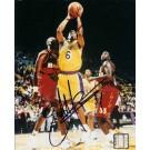 "Eddie Jones Autographed Los Angeles Lakers 8"" x 10"" Photograph (Unframed)"