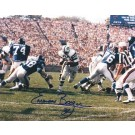 "Emerson Boozer Autographed New York Jets 8"" x 10"" Photograph (Unframed)"