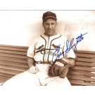 "Enos Slaughter Autographed St. Louis Cardinals 8"" x 10"" Photograph (Deceased Hall of Famer) (Unframed)"