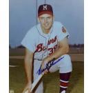 "Frank Thomas Autographed Milwaukee Braves 8"" x 10"" Photograph (Unframed)"