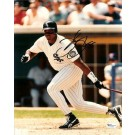 """Frank """"The Big Hurt"""" Thomas Autographed Chicago White Sox 8"""" x 10"""" Photograph (Unframed)"""