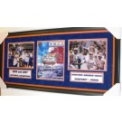 Corey Brewer, Al Horford, Joakim Noah, Taurean Green, Lee Humphrey 2006 - 2007 NCAA Champs Florida Gators Team Signed 2006 NCAA Finals Program Custom Framed