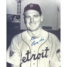 "George Kell Autographed Detroit Tigers 8"" x 10"" Photograph Deceased Hall of Famer (Unframed)"