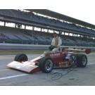 "George Schmit Autographed Racing 8"" x 10"" Photograph (Unframed)"