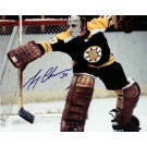 """Gerry Cheevers Autographed Boston Bruins 8"""" x 10"""" Photograph (Unframed)"""