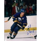 "Gil Perreault Autographed Buffalo Sabres 8"" x 10"" Photograph Hall of Famer (Unframed)"