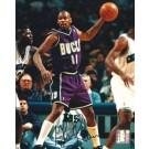 """Glenn Robinson Autographed Milwaukee Bucks 8"""" x 10"""" Photograph (Unframed)"""
