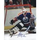 "Grant Fuhr Autographed Edmonton Oilers 8"" x 10"" Photograph (Unframed) by"