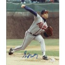 "Greg Maddux Autographed ""Action"" Atlanta Braves 8"" x 10"" Photograph (Unframed)"