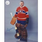 """Gump Worsley Autographed Montreal Canadians 8"""" x 10"""" Photograph Hall of Famer... by"""