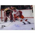"Gordie Howe Autographed Detroit Red Wings 16"" x 20"" Color Photograph with ""MR HOCKEY"" Inscription (Unframed)"