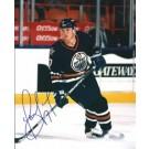 "Jason Arnott Autographed Oilers 8"" x 10"" Photograph (Unframed) by"