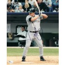 "Jason Giambi Autographed New York Yankees 8"" x 10"" Photograph (Unframed)"