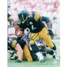 """Jerome Bettis Autographed Pittsburgh Steelers 8"""" x 10"""" Photograph (Unframed)"""