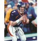 "John Elway ""Action"" Autographed Denver Broncos 8"" x 10"" Action... by"