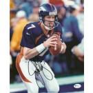 "John Elway ""Action"" Autographed Denver Broncos 8"" x 10"" Action... by"