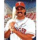 """Juan Gonzalez """"Posing"""" Autographed Texas Rangers 8"""" x 10"""" Photograph (Unframed)"""