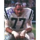 "Jim Parker Autographed Baltimore Colts 8"" x 10"" Photograph Hall of Famer (Unframed)"