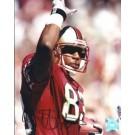 "JJ Stokes Autographed San Francisco 49ers 8"" x 10"" Photograph (Unframed)"