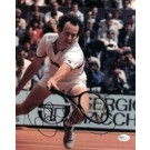 """John McEnroe Autographed 8"""" x 10"""" Action Photograph (Unframed) by"""