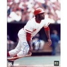 "Joe Morgan Autographed Cincinnati Reds 8"" x 10"" Photograph 1990 Hall of Fame 2x World Series Champ (Unframed)"