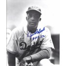 "Joe Black Autographed Brooklyn Dodgers 8"" x 10"" Photograph (Deceased) with ROY 52 inscription (Unframed)"