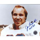 "Joe DeLamielleure Autographed Houston Oilers 8"" x 10"" Photograph Hall of Famer (Unframed)"