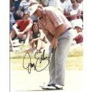 "Joey Sindelar Autographed Golf 8"" x 10"" Photograph (Unframed)"