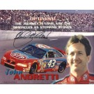 "John Andretti ""Quote"" Autographed Racing 8"" x 10"" Photograph... by"