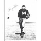 "Johnny Lattner ""Running"" Autographed Notre Dame Irish 8"" x 10"" Photograph 1953 Heisman Trophy Winner (Unframed)"