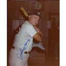 """Johnny Mize Autographed New York Yankees 8"""" x 10"""" Photograph Deceased (Unframed)"""