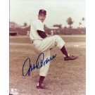 """Johnny Podres Autographed Brooklyn Dodgers 8"""" x 10"""" Photograph Deceased (Unframed)"""