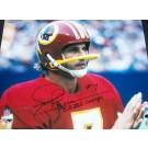 "Joe Theismann Autographed Washington Redskins 16"" x 20"" Photograph with"