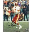 "Joe Theismann ""Throwing"" Autographed Washington Redskins 8"" x 10"" Photograph (Unframed)"