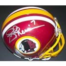 Joe Theismann Autographed Washington Redskins Riddell Mini Helmet