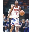 """Kenny Anderson Autographed New Jersey Nets 8"""" x 10"""" Photograph (Unframed)"""