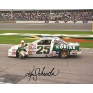 "Ken Schrader Autographed Racing 8"" x 10"" Photograph (Unframed) by"