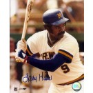 """Larry Hisle Autographed Milwaukee Brewers 8"""" x 10"""" Photograph (Unframed)"""