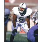 "Larry Johnson Autographed Penn State 8"" x 10"" Photograph (Unframed)"