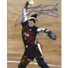 "Lisa Fernandez Autographed Softball 8"" x 10"" Photograph (Unframed)"