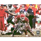 "Larry Johnson Autographed ""Action"" Horizontal 8"" x 10"" Photograph (Unframed)"
