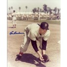 "Lou Boudreau Autographed Boston Red Sox 8"" x 10"" Photograph (Deceased) Hall of Famer (Unframed)"
