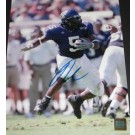 """Ladainian Tomlinson Autographed 8"""" x 10"""" TCU College Action Photograph San Diego Chargers (Unframed)"""