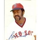 """Luis Tiant Autographed Boston Red Sox 8"""" x 10"""" Photograph (Unframed)"""