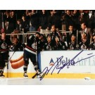 """Mark Messier """"Black Jersey"""" Autographed Vancouver Canucks 8"""" x 10""""... by"""