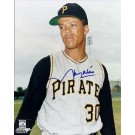 """Maury Wills Autographed Pittsburgh Pirates 8"""" x 10"""" Photograph (Unframed)"""