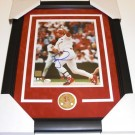 "Mark McGwire Autographed St. Louis Cardinals 8"" x 10"" Custom Framed Photograph"