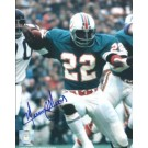 "Mercury Morris Autographed Miami Dolphins 8"" x 10"" Photograph (Unframed)"