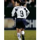 "Mia Hamm ""Garciaparra Jersey"" Autographed Soccer 8"" x 10"" Photograph (Unframed)"
